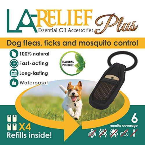 Flea and Tick Control Collar Clip & Mosquito Repellent by La